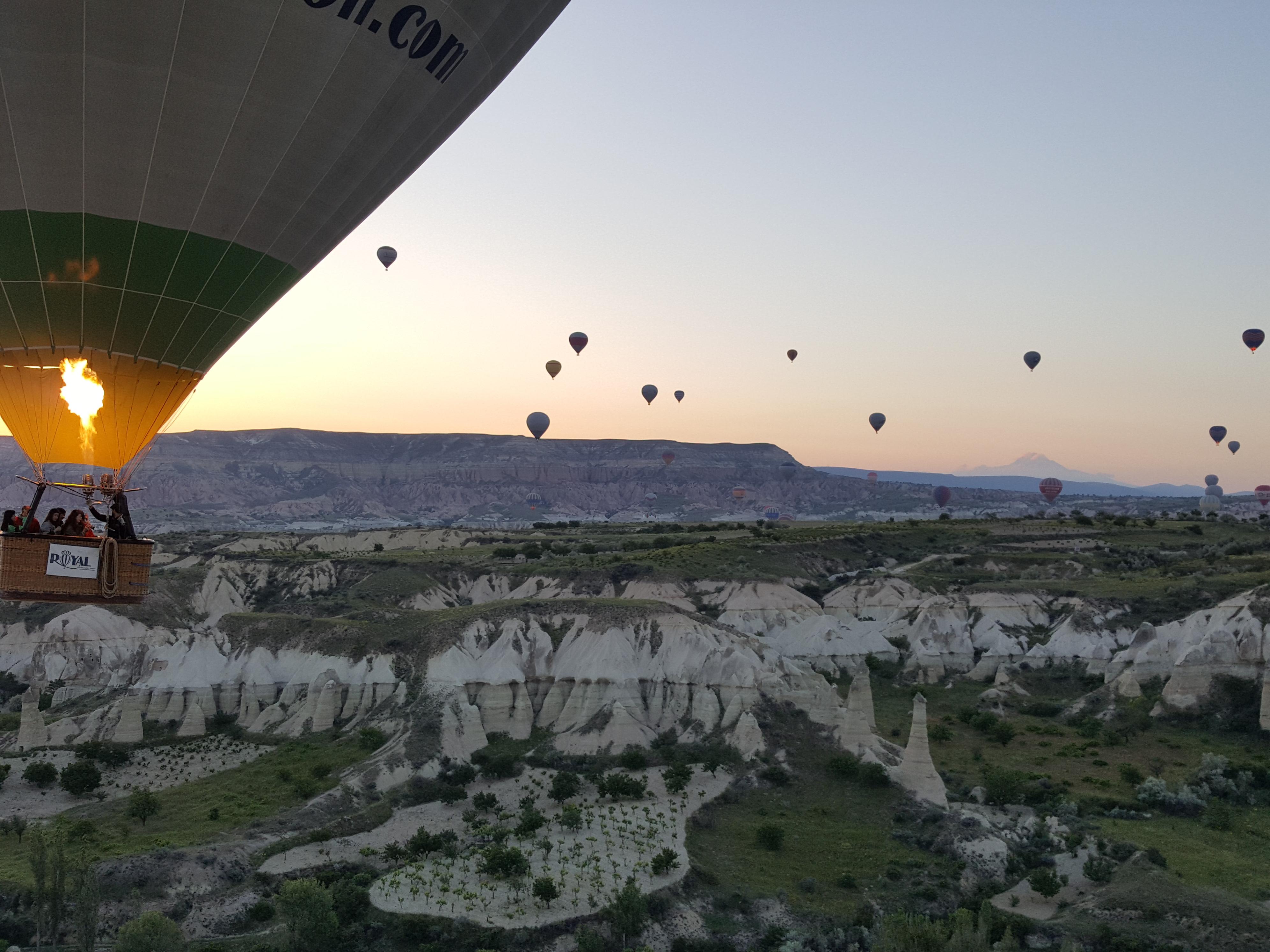 Cappadocia Turkey ballon ride
